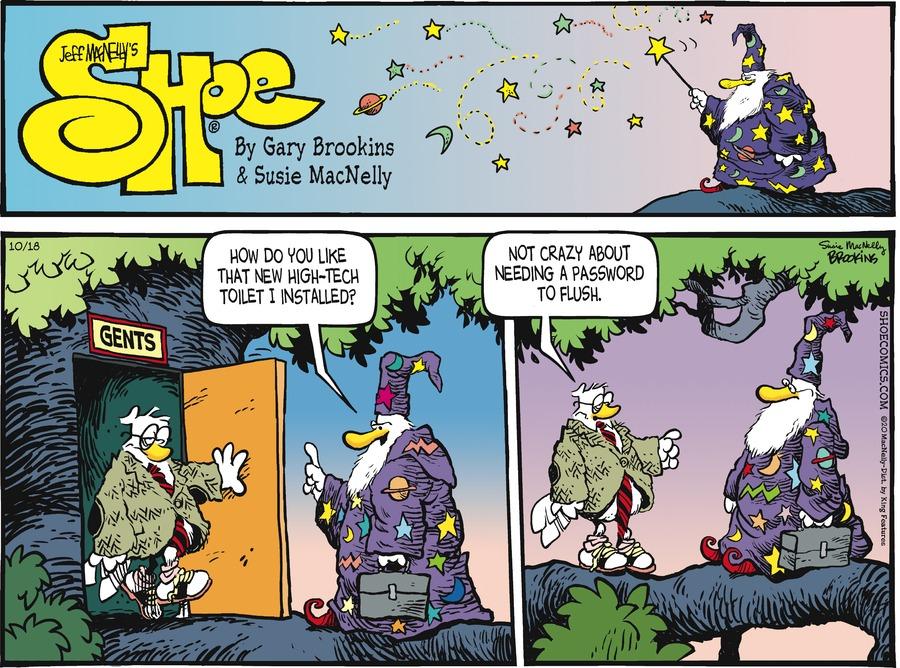 Shoe Comic Strip for October 18, 2020
