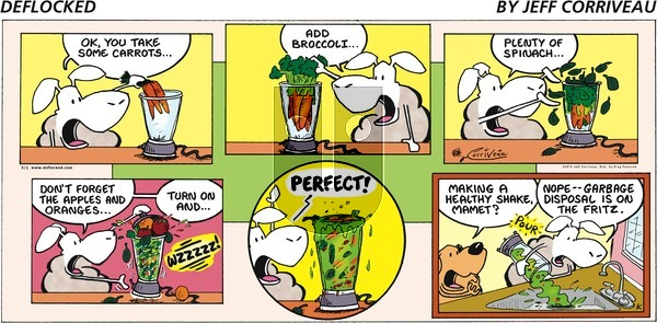 DeFlocked on Sunday March 1, 2015 Comic Strip