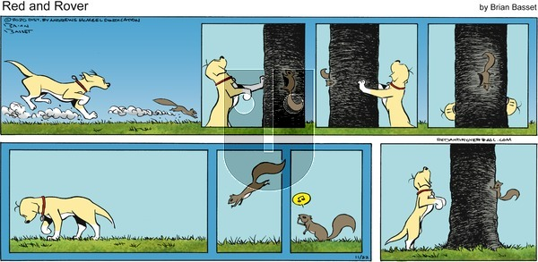 Red and Rover on Sunday November 22, 2020 Comic Strip