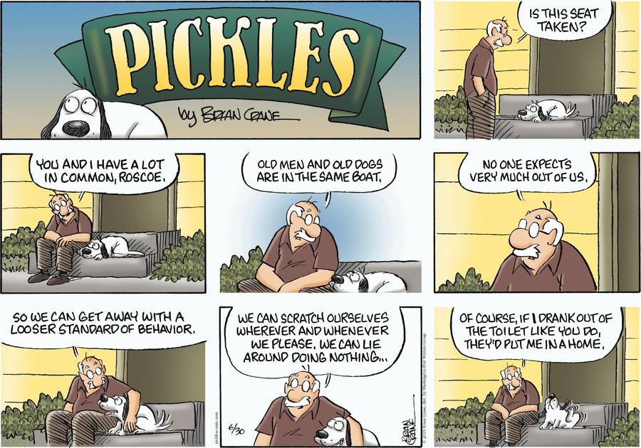 Pickles Comic Strip for June 30, 2019