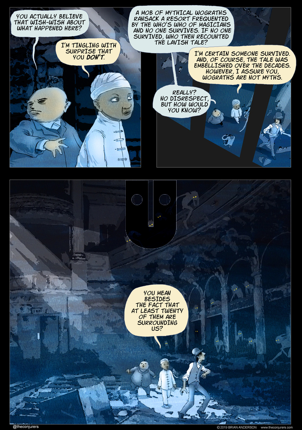 The Conjurers on Thursday October 31, 2019 Comic Strip