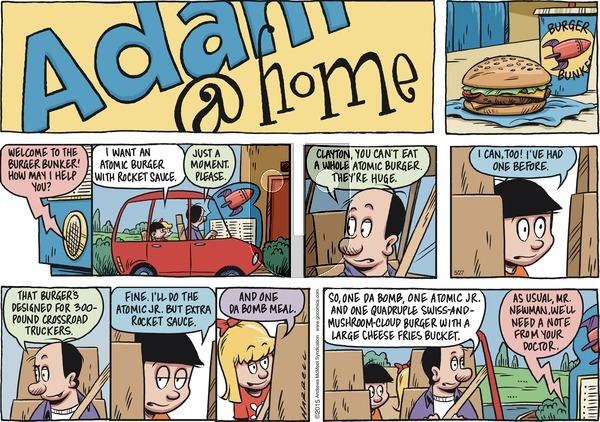 Adam@Home on Sunday May 27, 2018 Comic Strip