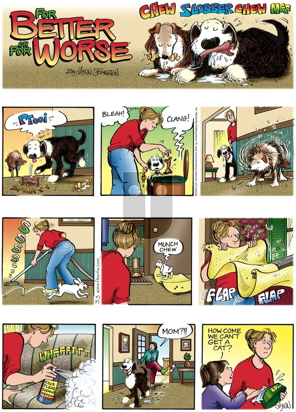 For Better or For Worse on Sunday March 3, 2002 Comic Strip