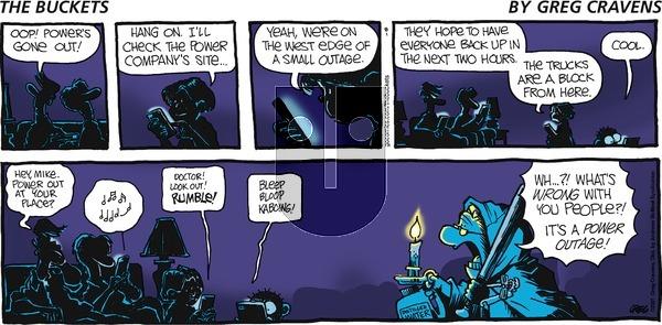 The Buckets on Sunday August 1, 2021 Comic Strip