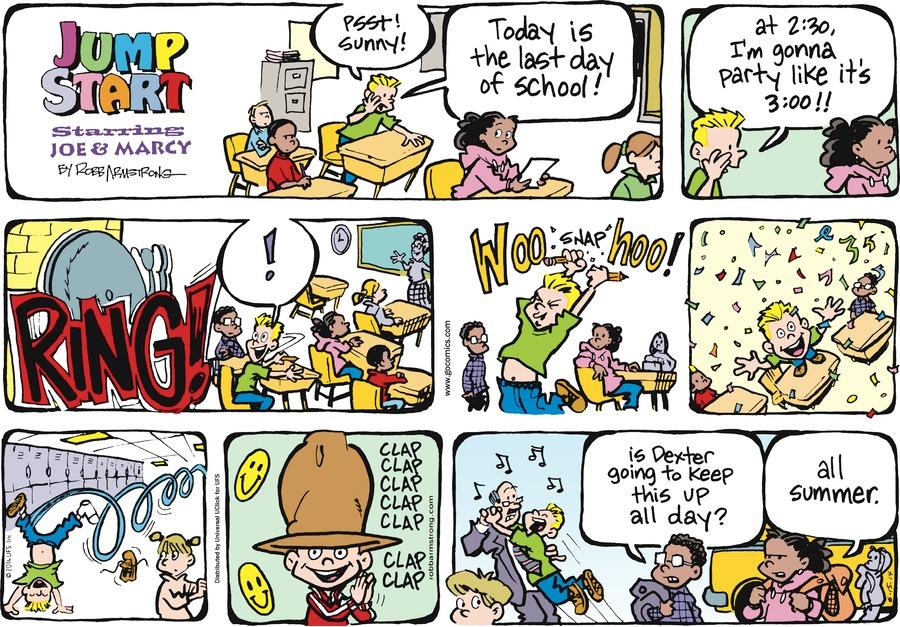 JumpStart for Jun 15, 2014 Comic Strip