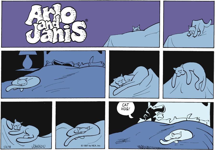 Arlo and Janis for Jan 4, 1998 Comic Strip