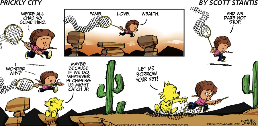 Prickly City Comic Strip for July 22, 2018