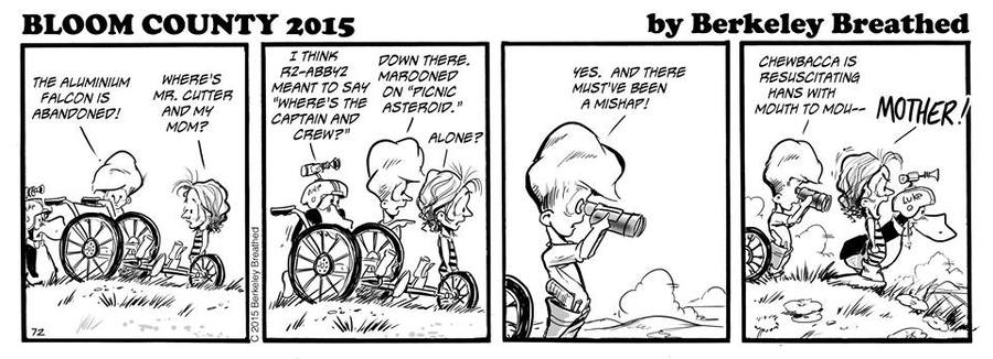 Bloom County 2018 Comic Strip for October 21, 2015