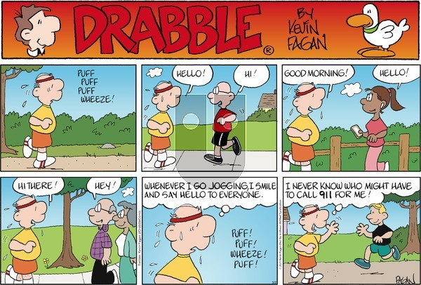 Drabble on Sunday May 2, 2021 Comic Strip
