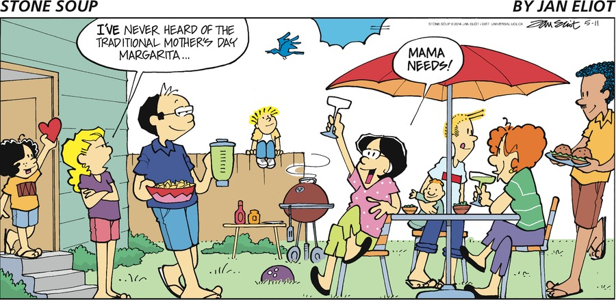 Stone Soup Comic Strip for May 11, 2014