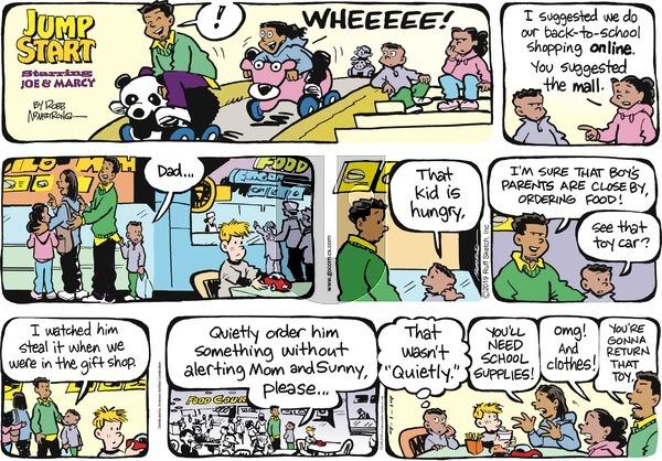 JumpStart - Sunday September 1, 2019 Comic Strip