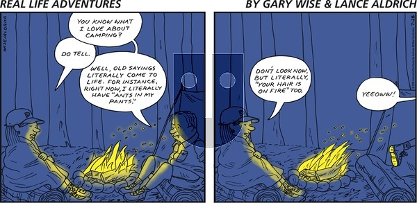 Real Life Adventures - Sunday July 28, 2019 Comic Strip