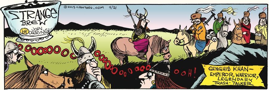 Strange Brew for Apr 21, 2013 Comic Strip