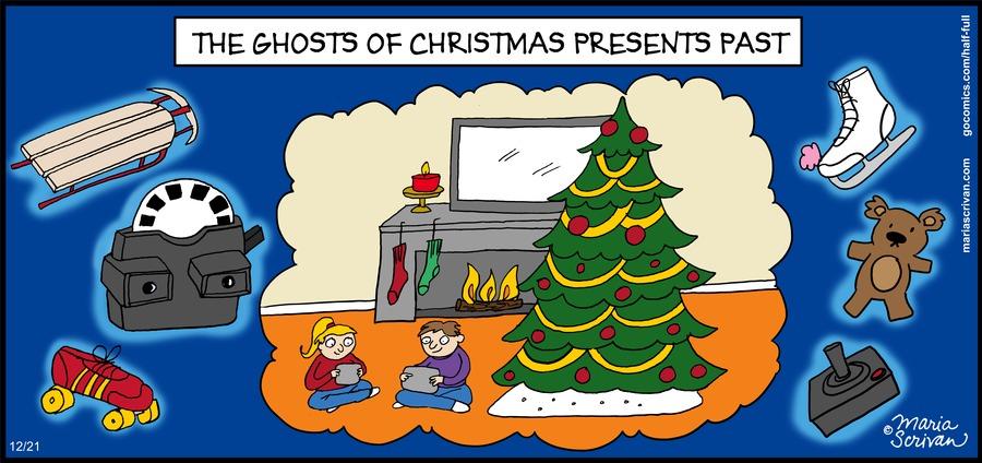 Half Full Comic Strip for December 21, 2014