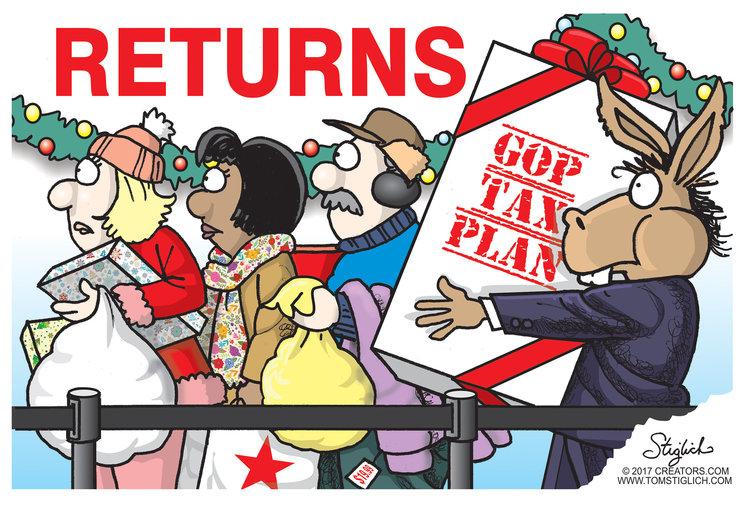 Tom Stiglich for Dec 26, 2017 Comic Strip