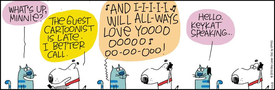Mike du Jour Comic Strip for June 08, 2020