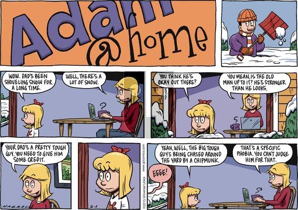 Adam@Home on Sunday February 1, 2015 Comic Strip