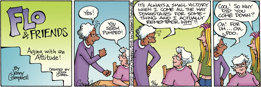 Flo and Friends Comic Strip for September 26, 2021