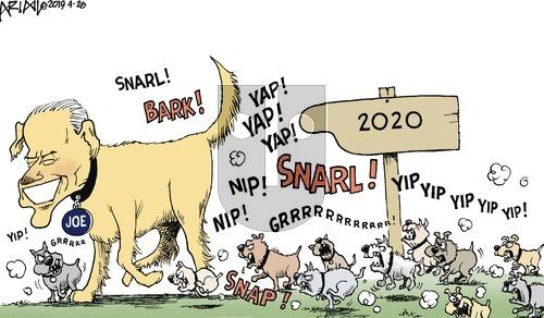 Robert Ariail on Sunday April 28, 2019 Comic Strip