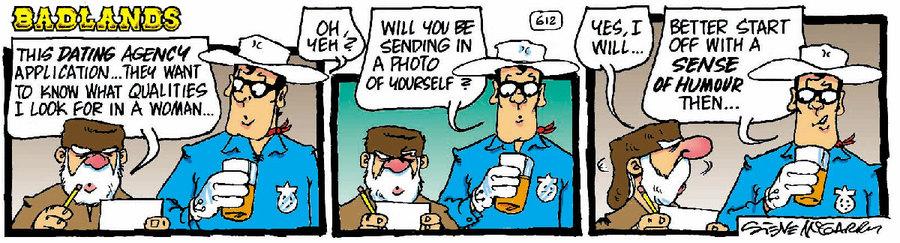 Badlands Comic Strip for November 24, 2020