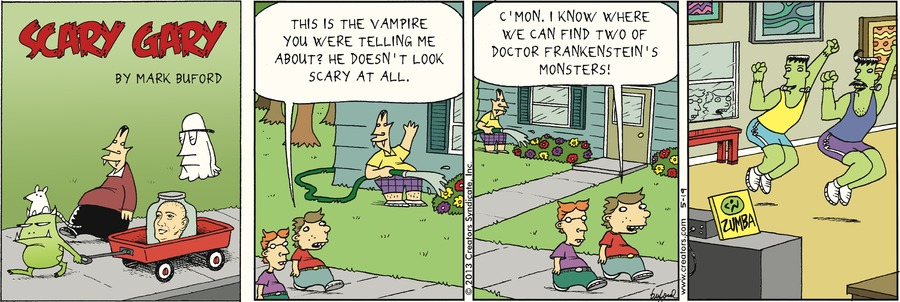Scary Gary for May 19, 2013 Comic Strip