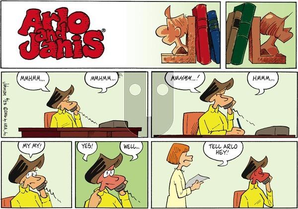 Arlo and Janis on Sunday June 25, 2006 Comic Strip