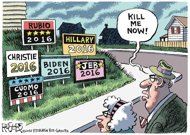 Rob Rogers for Nov 25, 2012 Comic Strip