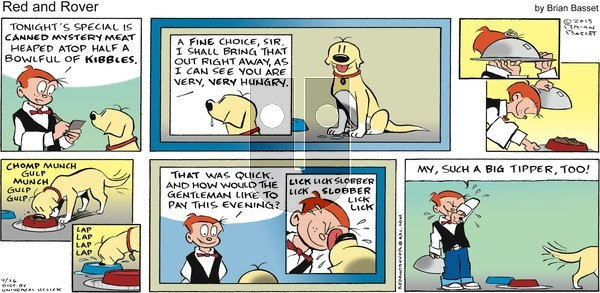 Red and Rover - Sunday April 26, 2015 Comic Strip