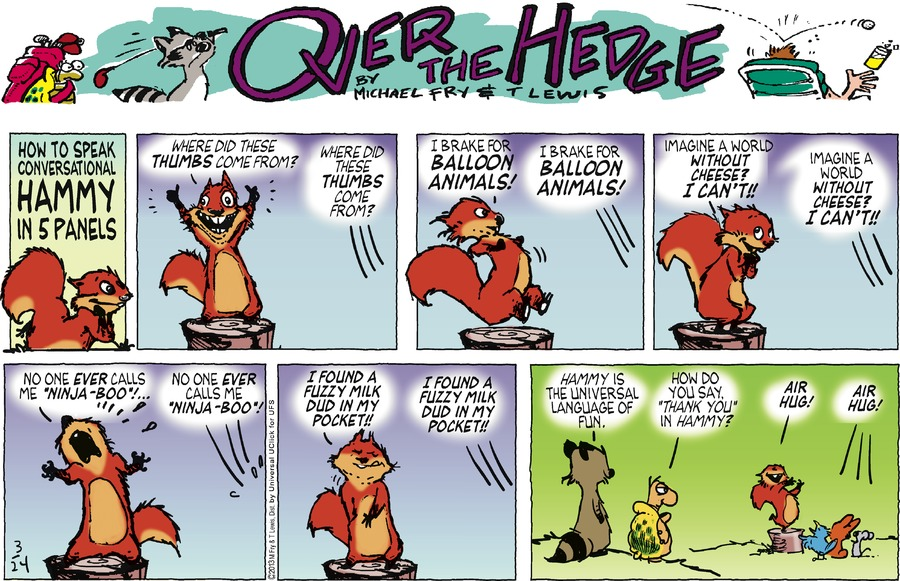Over the Hedge for Mar 24, 2013 Comic Strip