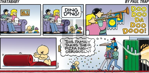 Thatababy on Sunday September 30, 2018 Comic Strip