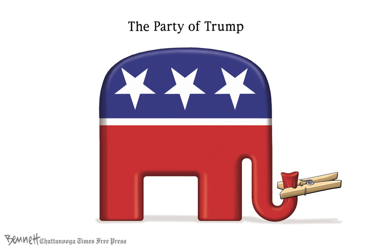 Clay Bennett for May 5, 2016 Comic Strip