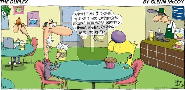 The Duplex on Sunday March 1, 2015 Comic Strip