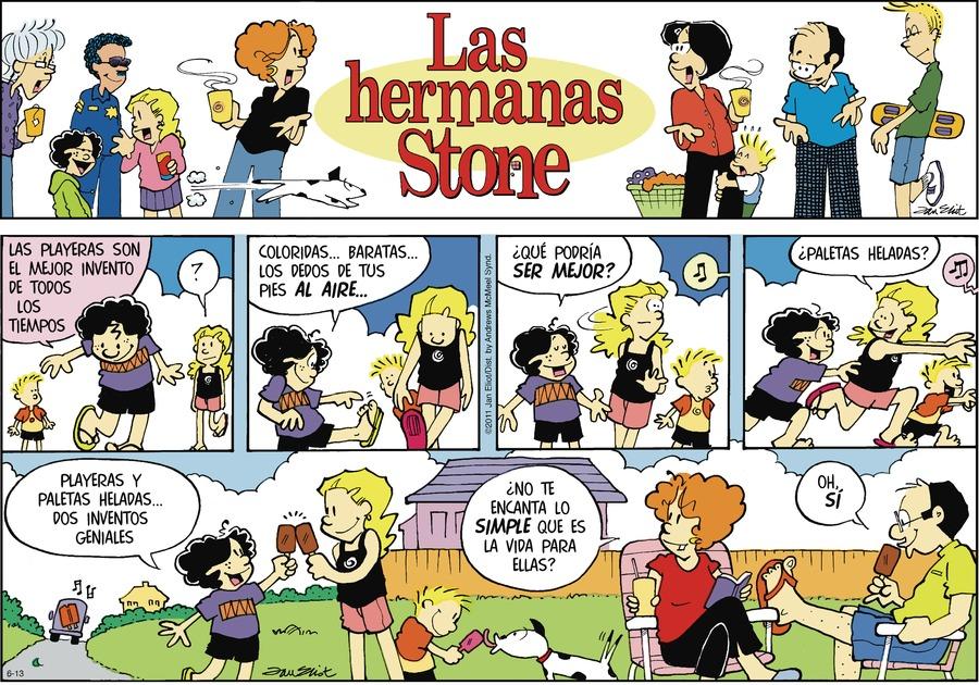 Las Hermanas Stone Comic Strip for June 13, 2021