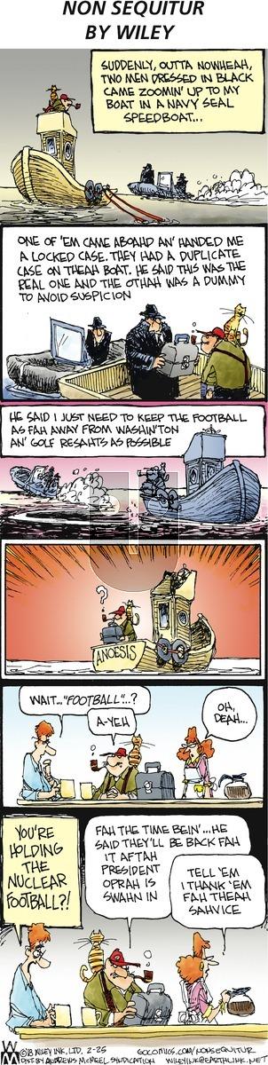 Non Sequitur on Sunday February 25, 2018 Comic Strip