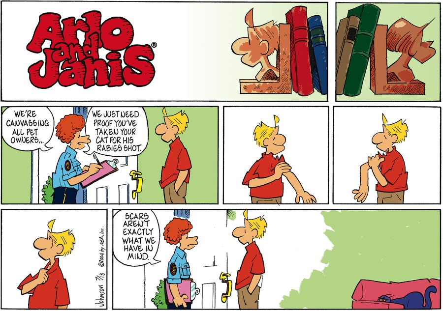 Arlo and Janis for Jul 18, 2004 Comic Strip