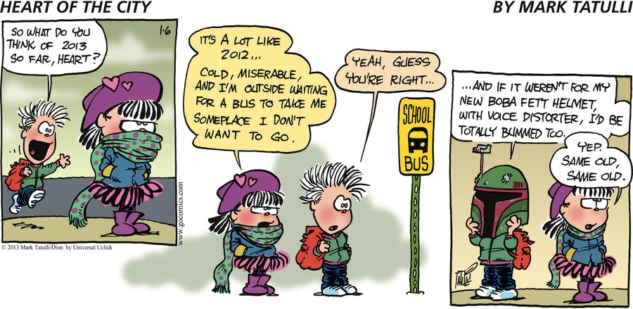 Heart of the City for Jan 6, 2013 Comic Strip