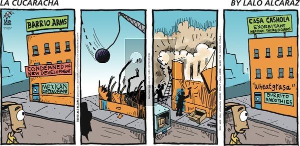 La Cucaracha on Sunday November 27, 2016 Comic Strip