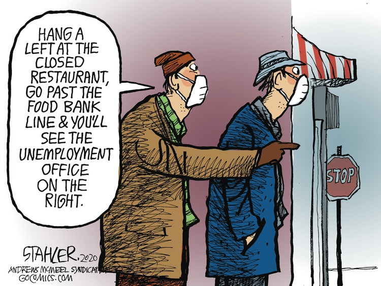 Jeff Stahler Comic Strip for December 20, 2020