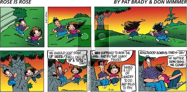 Rose is Rose on Sunday May 21, 2017 Comic Strip