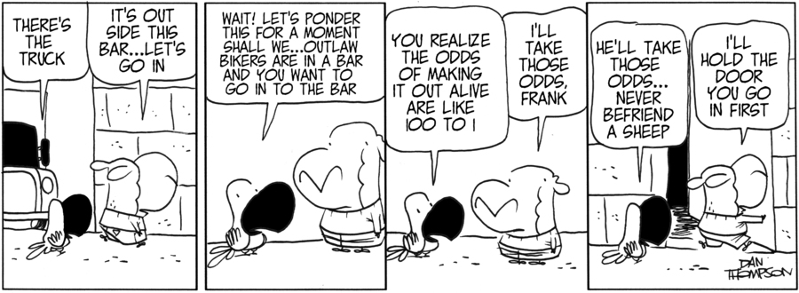 Lost Sheep Comic Strip for June 11, 2019