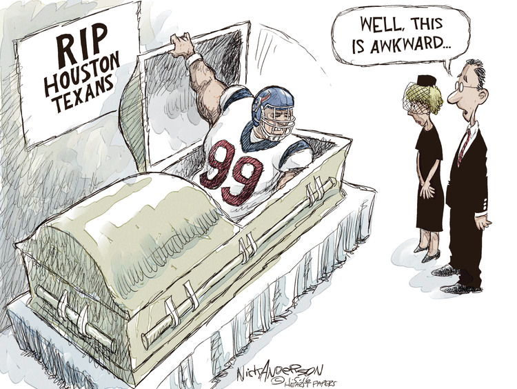 Nick Anderson Comic Strip for January 05, 2016
