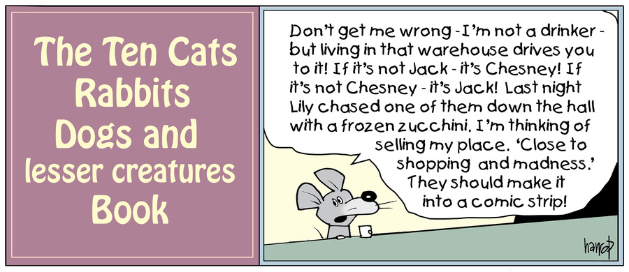 Ten Cats by Graham Harrop for May 25, 2019