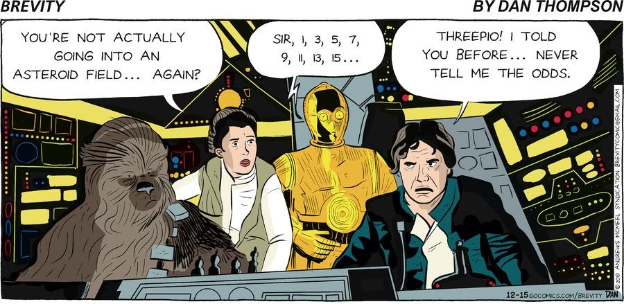 Brevity Comic Strip for December 15, 2019