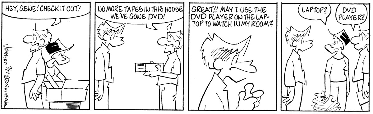 Arlo and Janis for Sep 27, 2003 Comic Strip