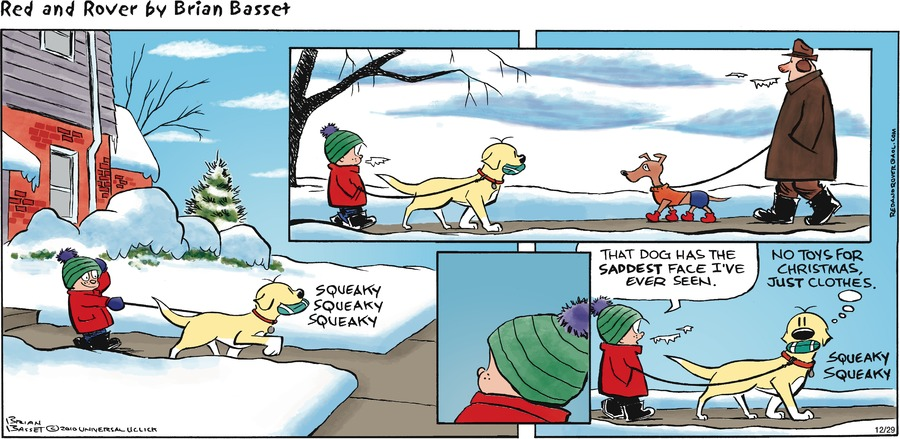 Red and Rover for Dec 29, 2013 Comic Strip
