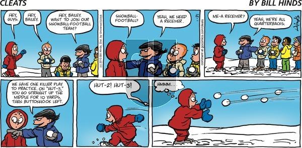 Cleats on Sunday January 31, 2010 Comic Strip