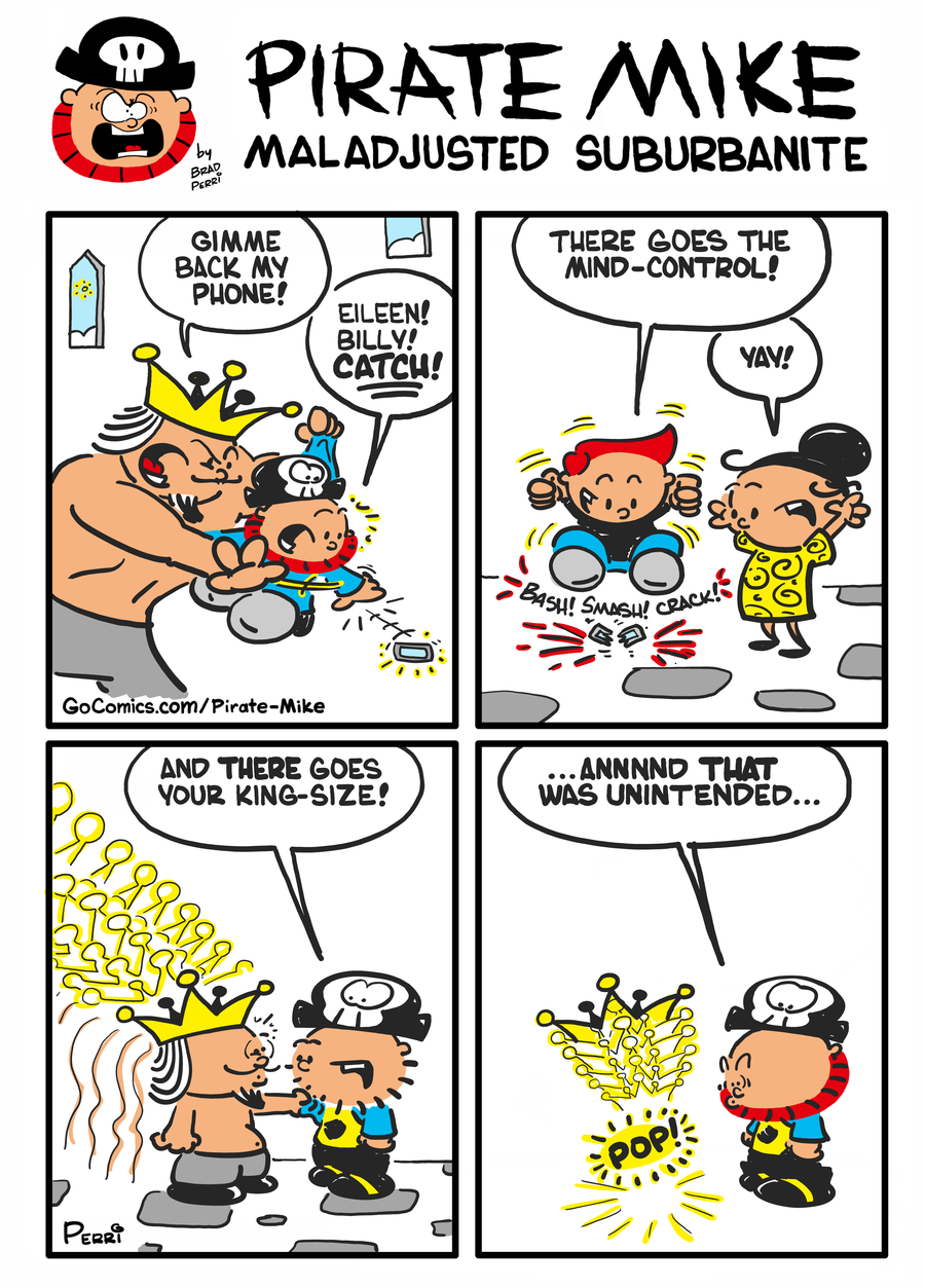 Pirate Mike Comic Strip for January 25, 2021