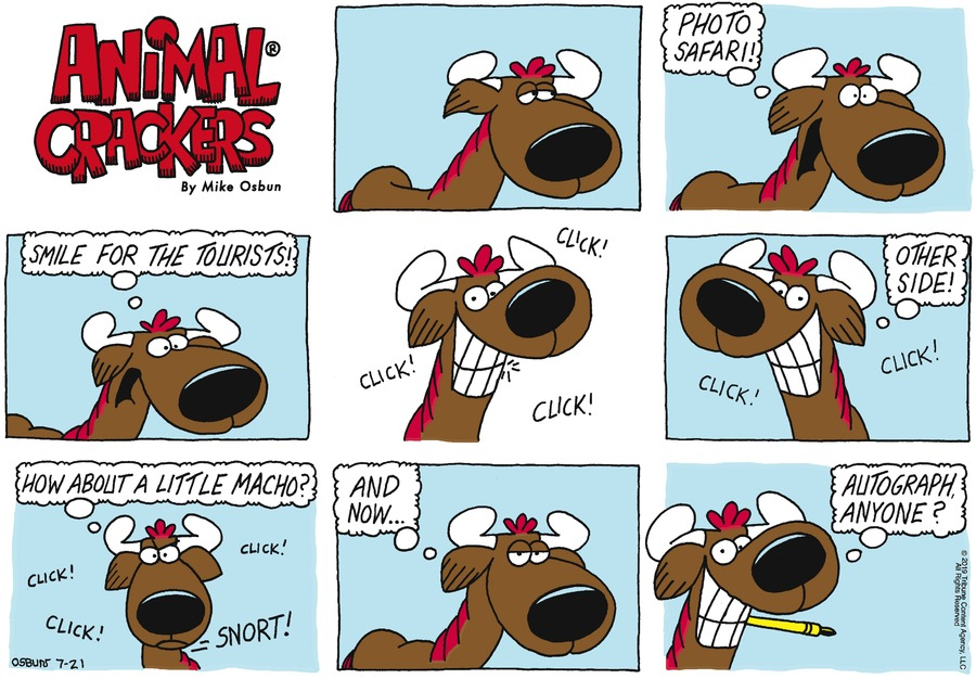 Animal Crackers Comic Strip for July 21, 2019