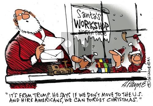 Henry Payne on Sunday December 4, 2016 Comic Strip