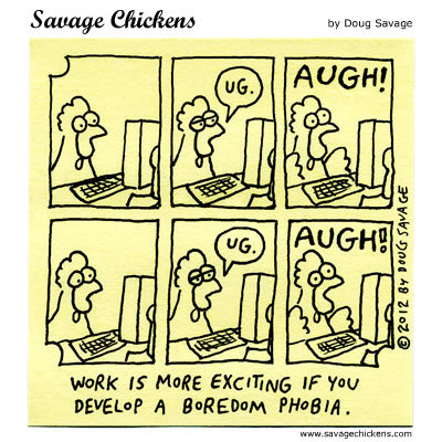 Savage Chickens Comic Strip for October 06, 2016